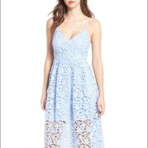 ASTR the Label lace midi dress!
